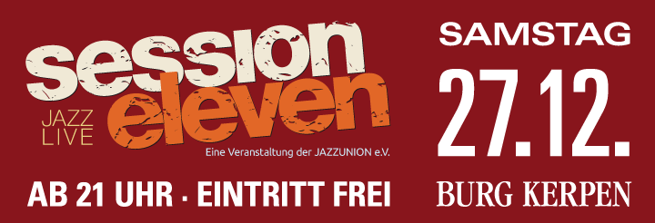 session eleven am Samstag, 01.11.2014