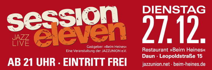 session eleven am Dienstag, 27.12.2016