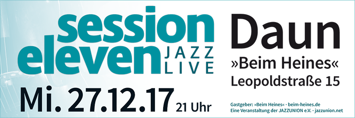 session eleven am Samstag, 27.12.2017