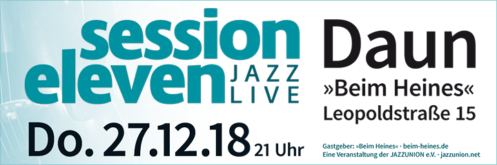 session eleven am Samstag, 27.12.2018