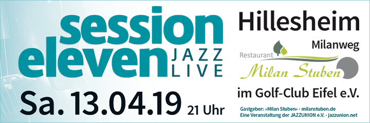 session eleven am Samstag, 13.04.2019