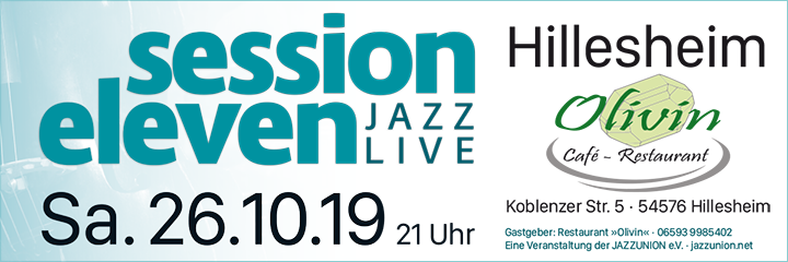 session eleven am Samstag, 26.10.2019